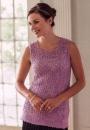 Вязание топа Modular Lace Blouse