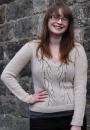 Вязание пуловера Windswept, Emilly Wessel