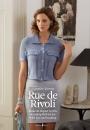 Вязание кофточки спицами Rue de Rivoli, The Knitter 57