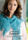 Вязание шали Zennor, The Knitter 75