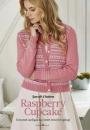 Вязание кардигана Raspberry Cupcake, The Knitter 83