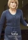 Вязание кардигана Sofia, The Knitter 83