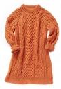 Платье с косами Honeycomb Aran
