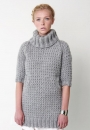 Джемпер платье Bernat патентной резинкой