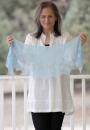 Невероятно нежная ажурная шаль Amy