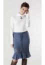 Вязание юбки Lacy Flounces