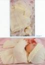 Вязание малышам комплекта Ruffle-trim