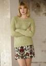 Пуловер резинкой Cathleen