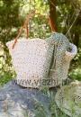 Пляжная сумка Hollis из толстой пряжи