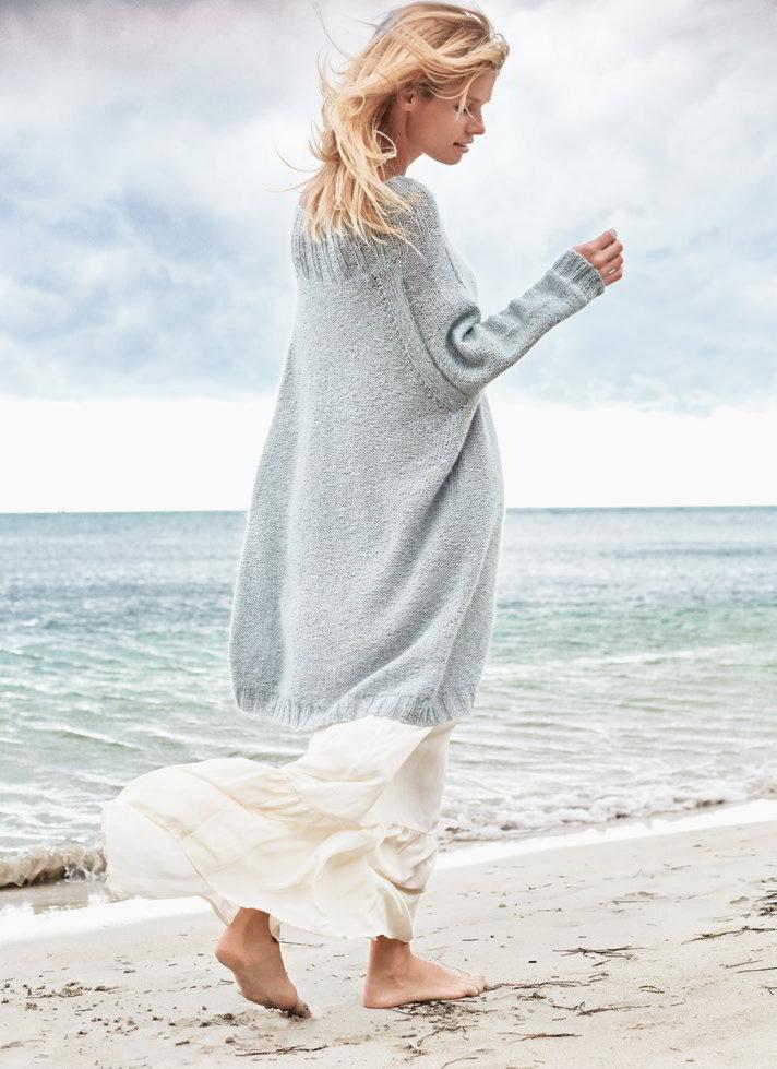 Фото офигенные модели платьев оверсайз спицами