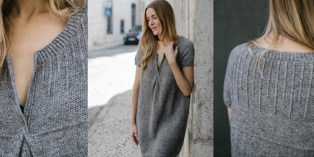 1930bbaf472 Вязаное платье спицами для женщин с описанием