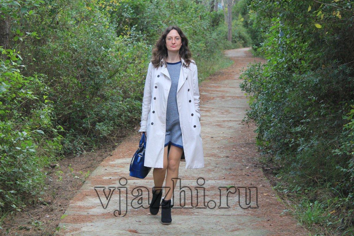 платье на вязальной машине Marina вяжиру