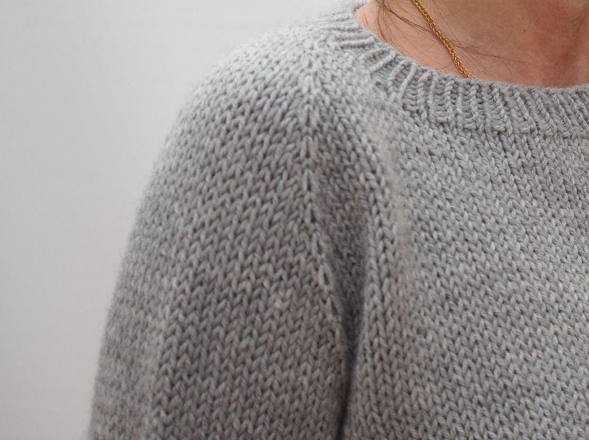 Вязание без швов сверху