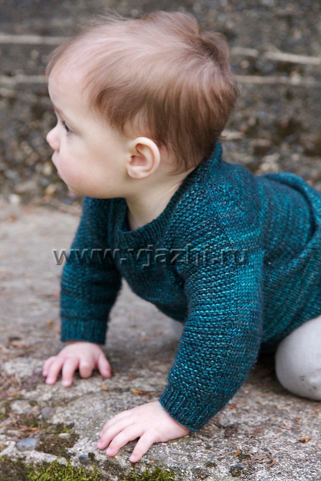 Детский пуловер реглан