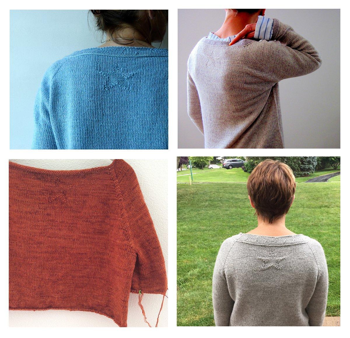 Мастер класс по вязанию свитера с регланом 236