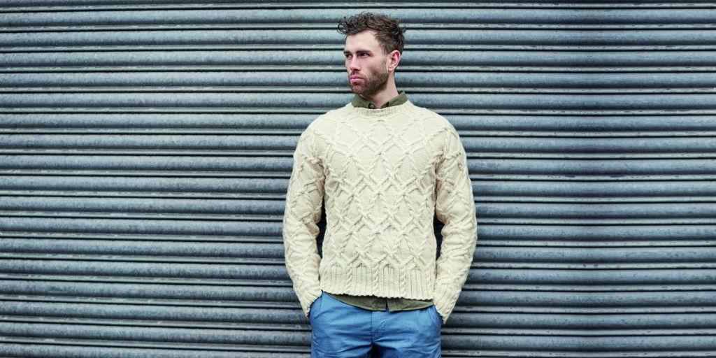 Мужские пуловеры и джемпера спицами с описанием и схемами ...