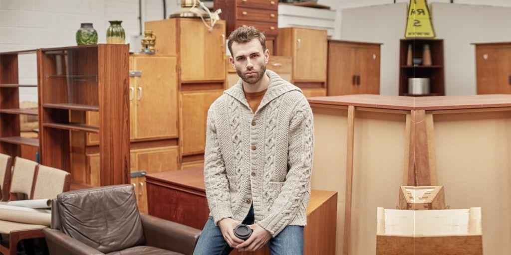 Мужской свитер с горлом схема вязания фото 339