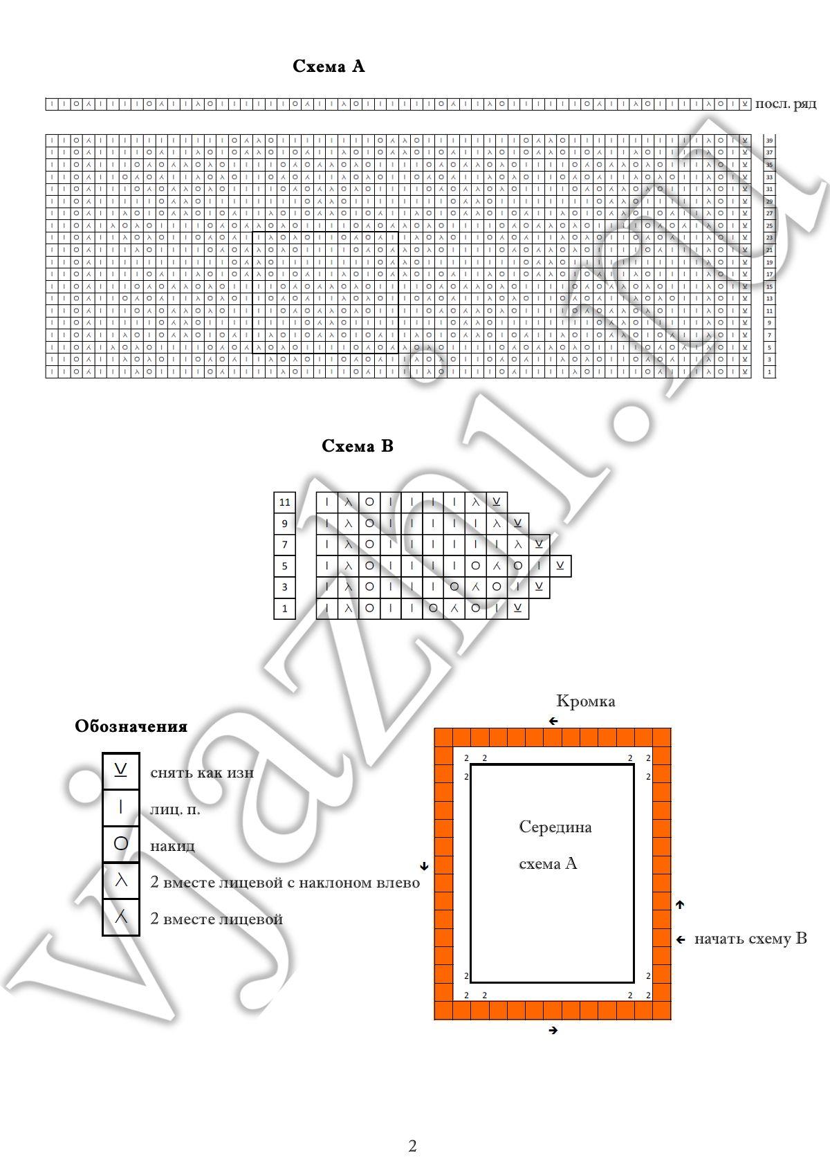 Юбка крючком со схемами и описанием фото