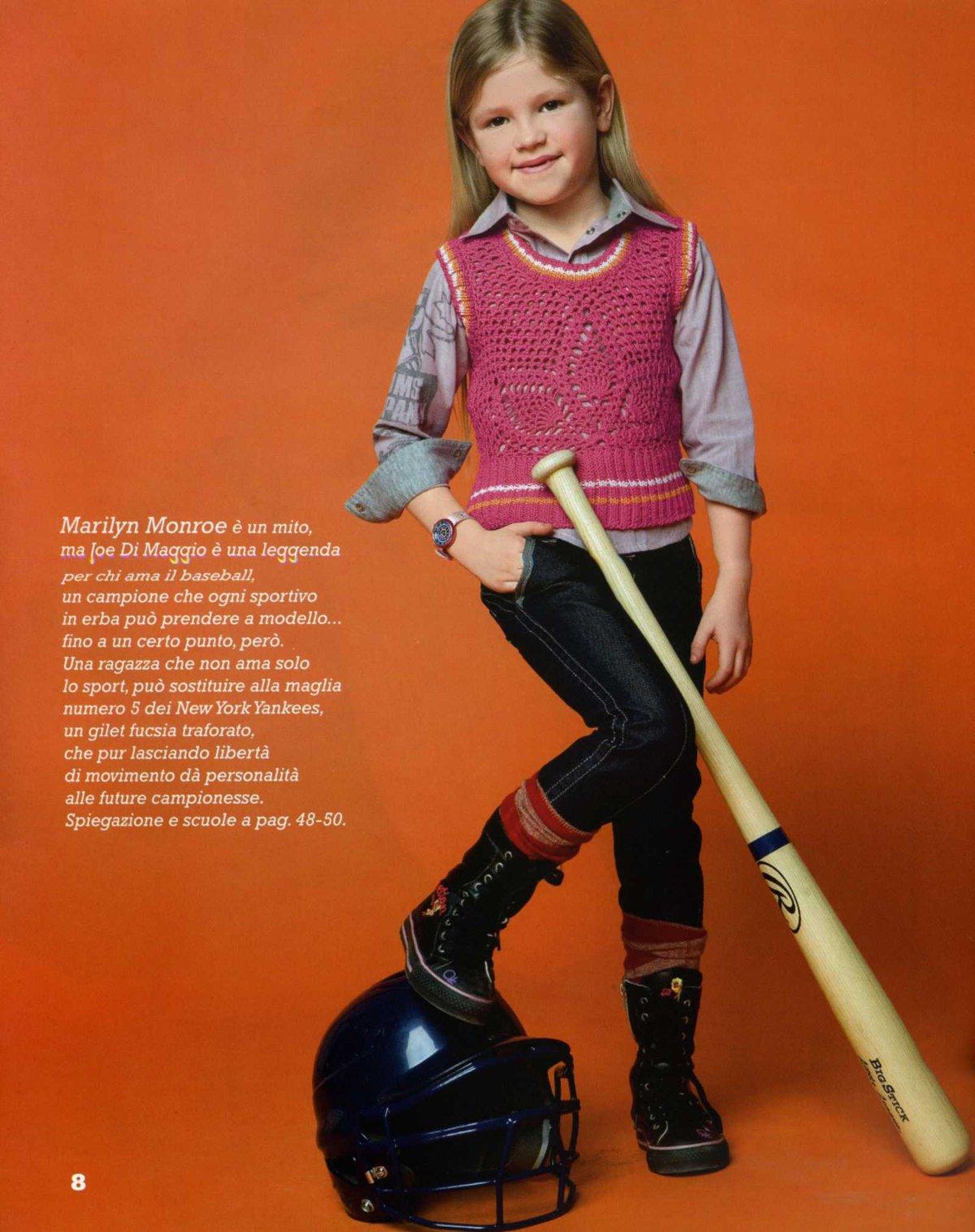 схема вязание спицами жилетки для девочки 10 лет