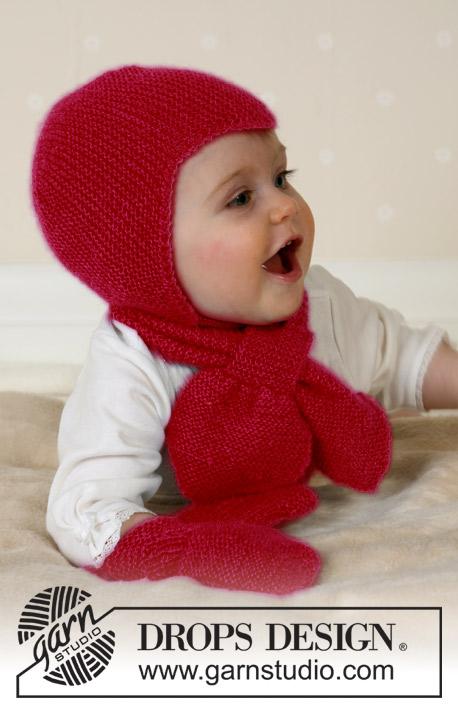Вязание для детей спицами шапки i