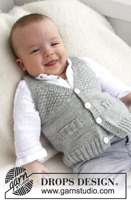 Вязание для малышей жилета