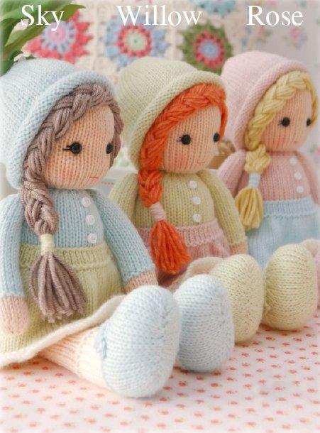 Вязание куклы спицами для начинающих со схемами фото 556