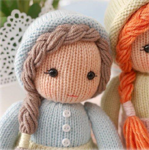 Вязание куклы спицами для начинающих со схемами