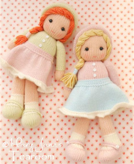 Вязанные куклы схемы своими руками
