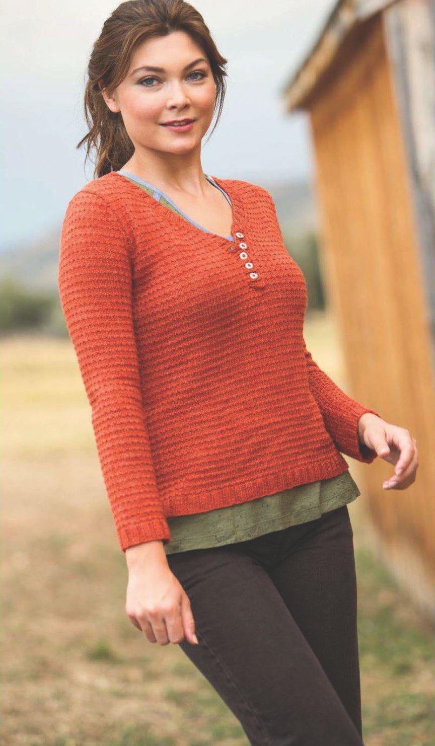 Детский пуловер спицами. Вяжем пуловер своими руками 8