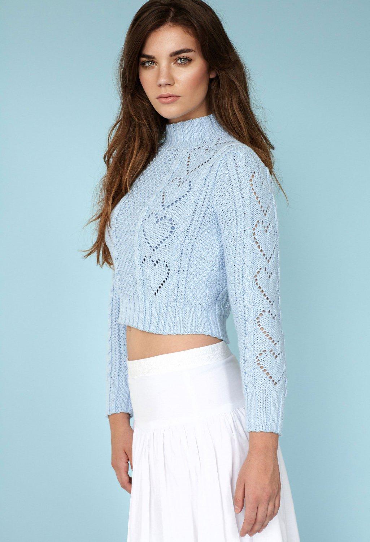 Связать теплый свитер женский спицами схема