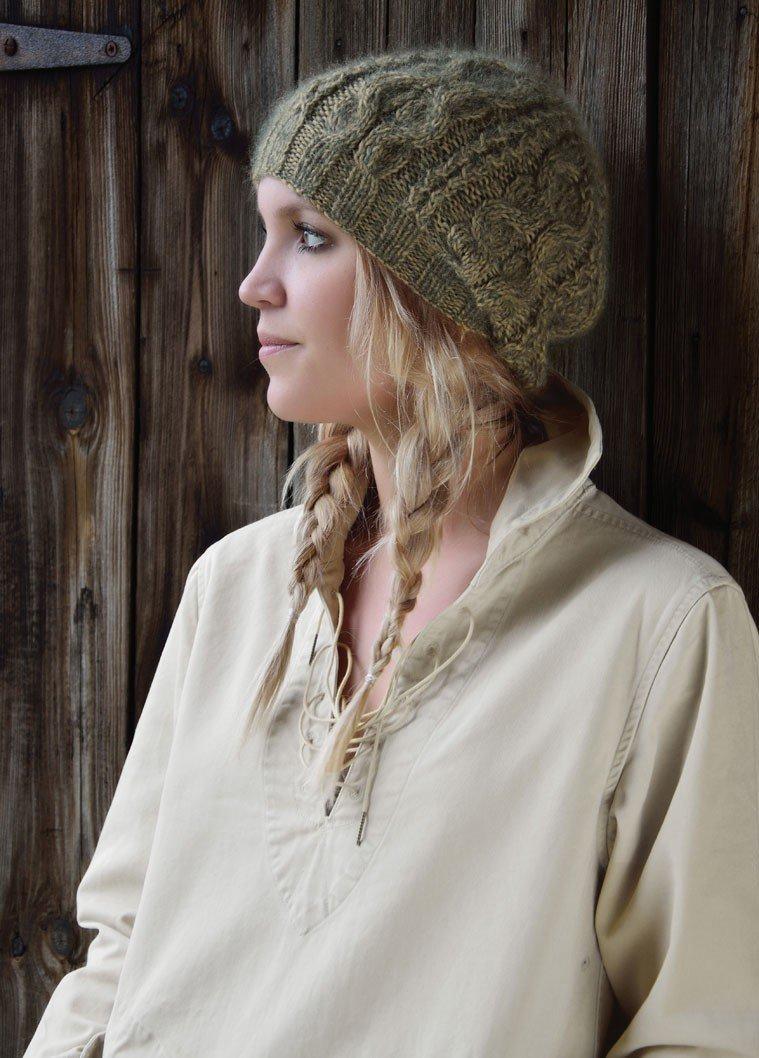 схема вязанных зимних шапок