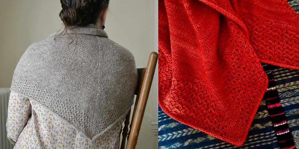 Вязание платков спицами с фото 337