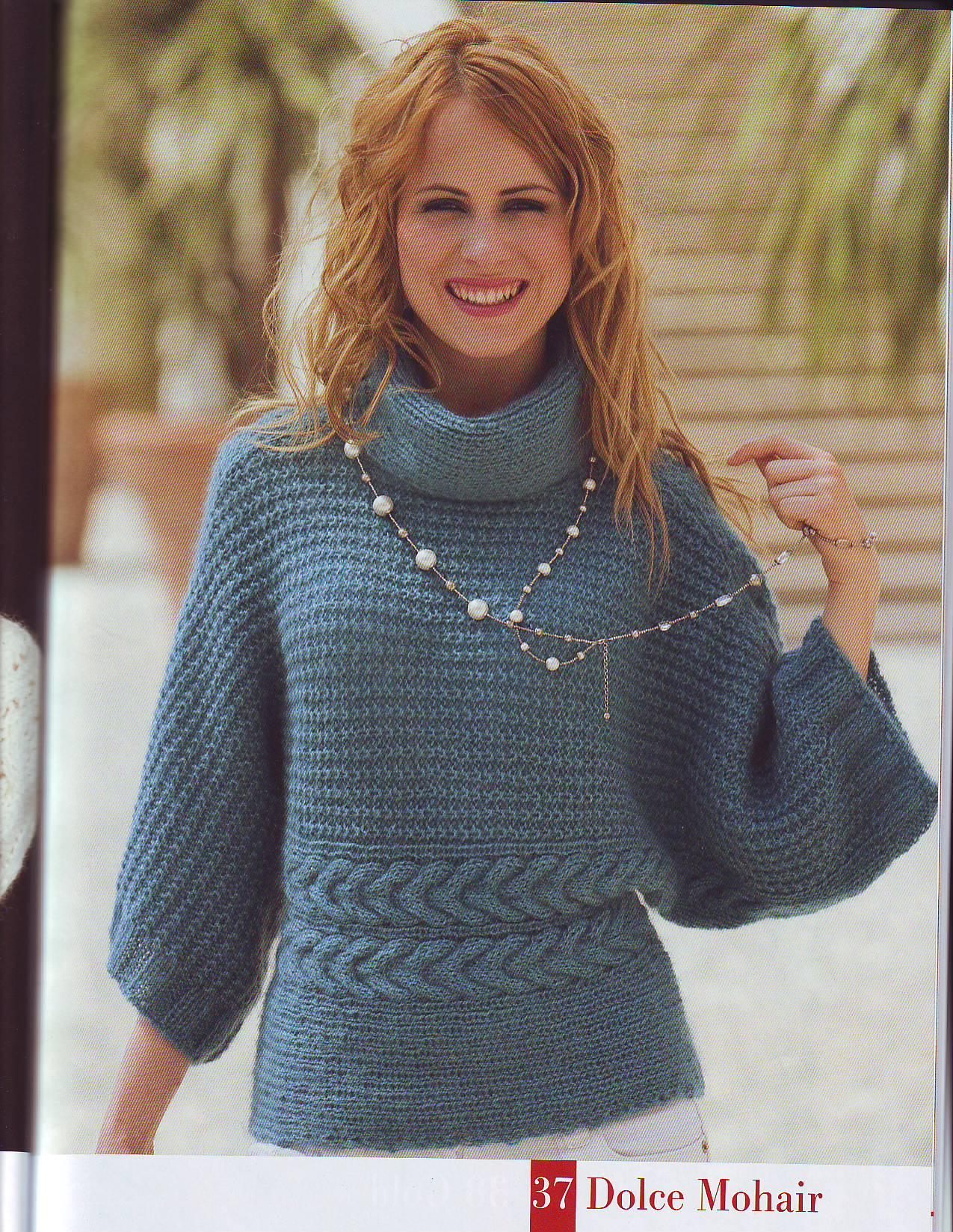 вязание спицами женское манто фото схемы
