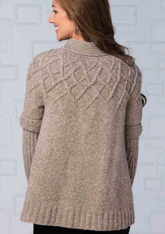 Платье вязаное без швов