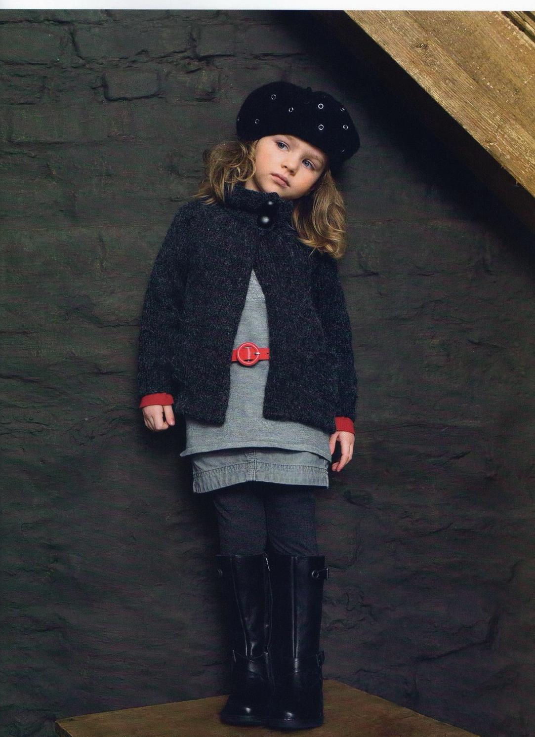 вязание спицами кофта для девочки 2 лет сверху схема