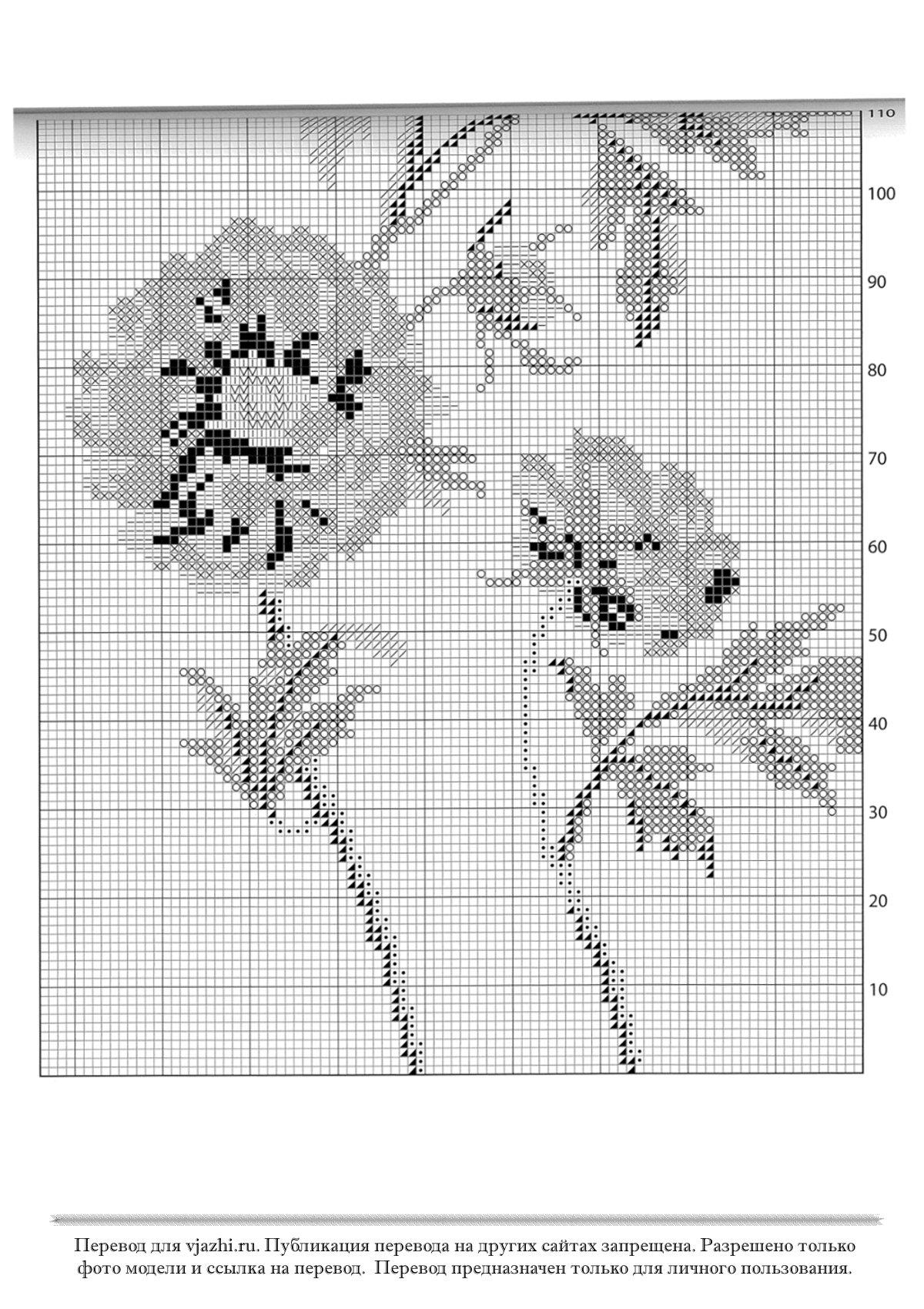 Вязание(жаккард, вышивка ) Irina @ Простые схемы. Экономим время на 65