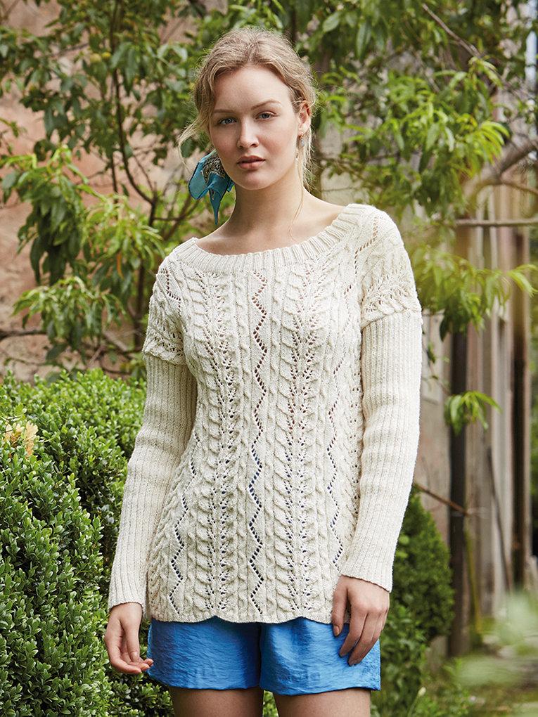 Вязание весна 2015 пуловер