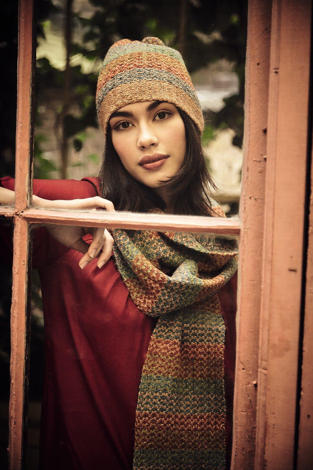 вязание с подробной схемой шапок женских