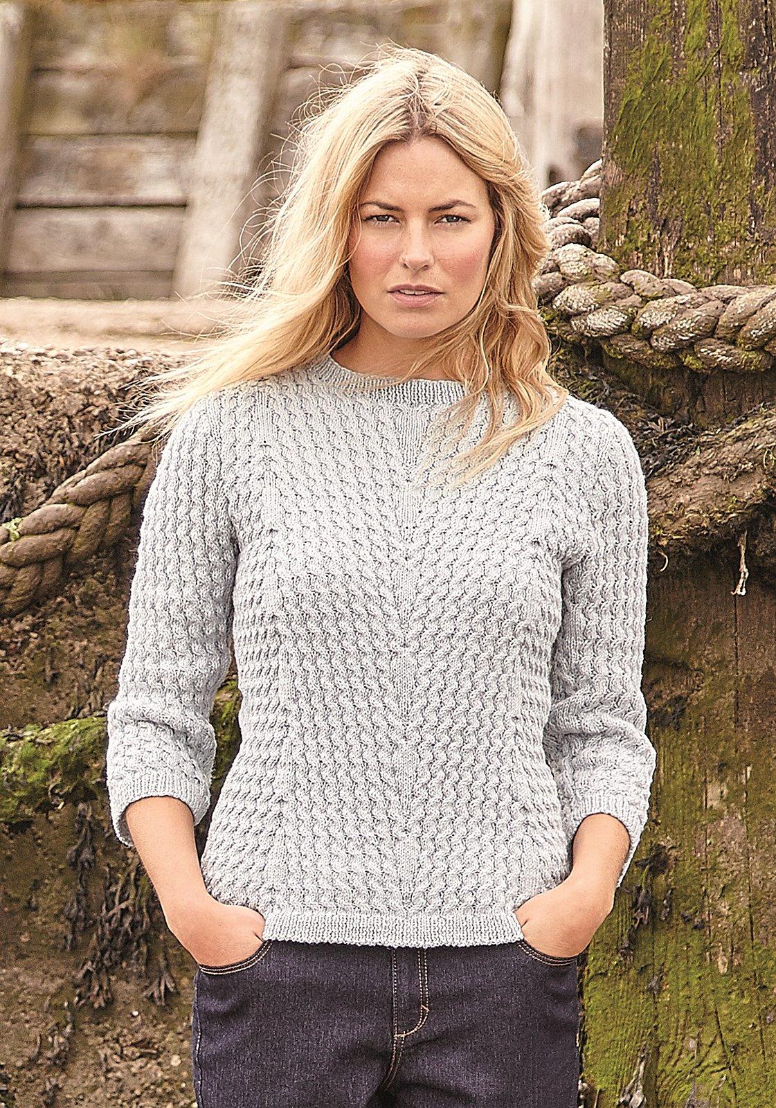 вязание спицами кофты джемперы полуверы свитеры со схемами