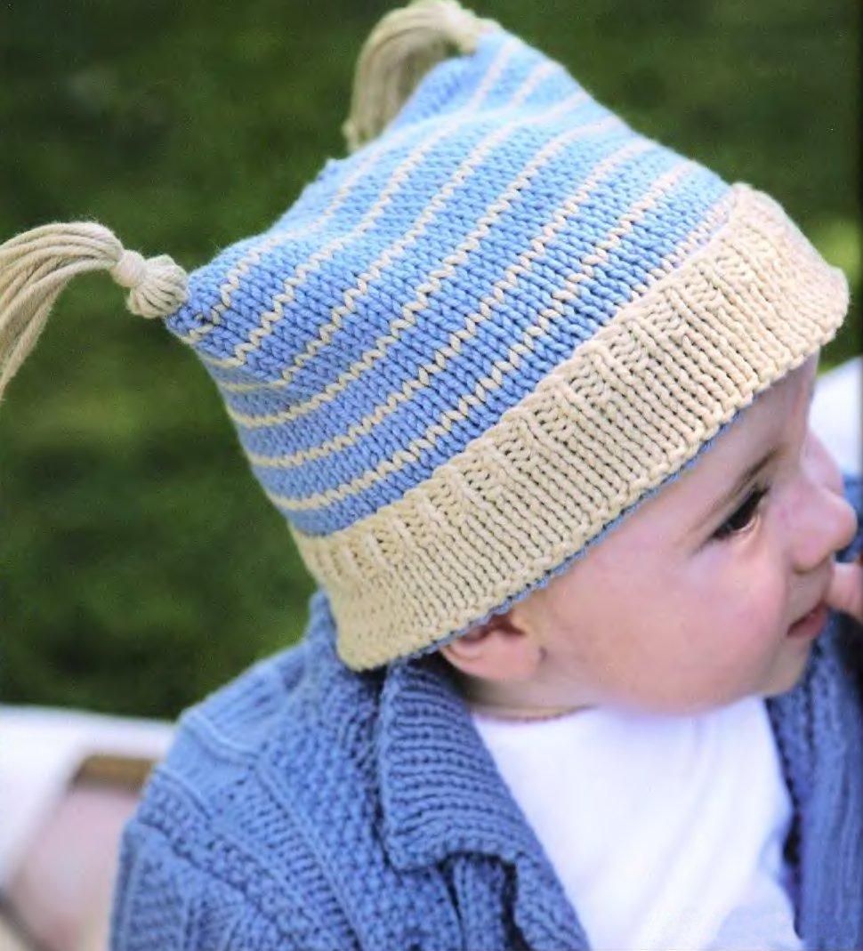 шапочка малышу Pixie вяжиру