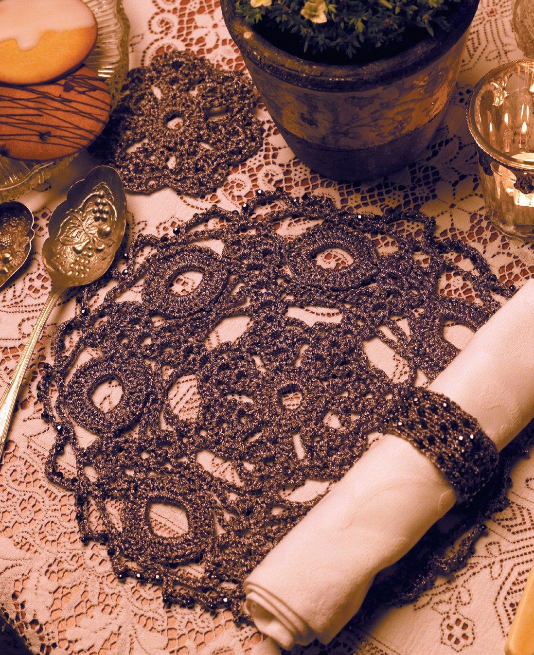 Вязание двухцветная плетенка 9