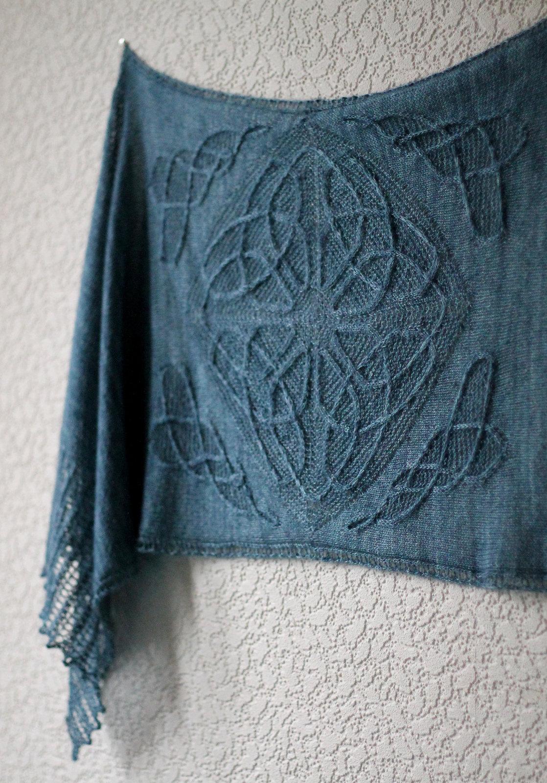 узор кельтский схема вязания
