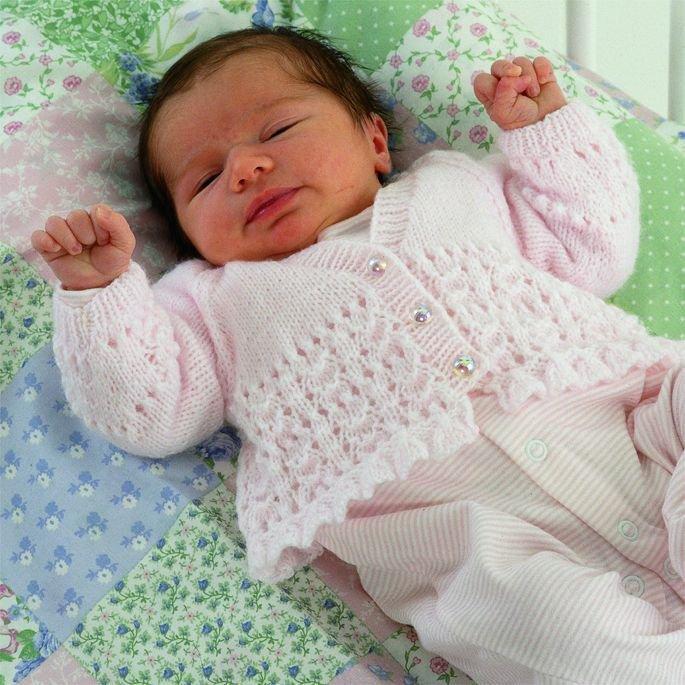 спицами для новорожденных