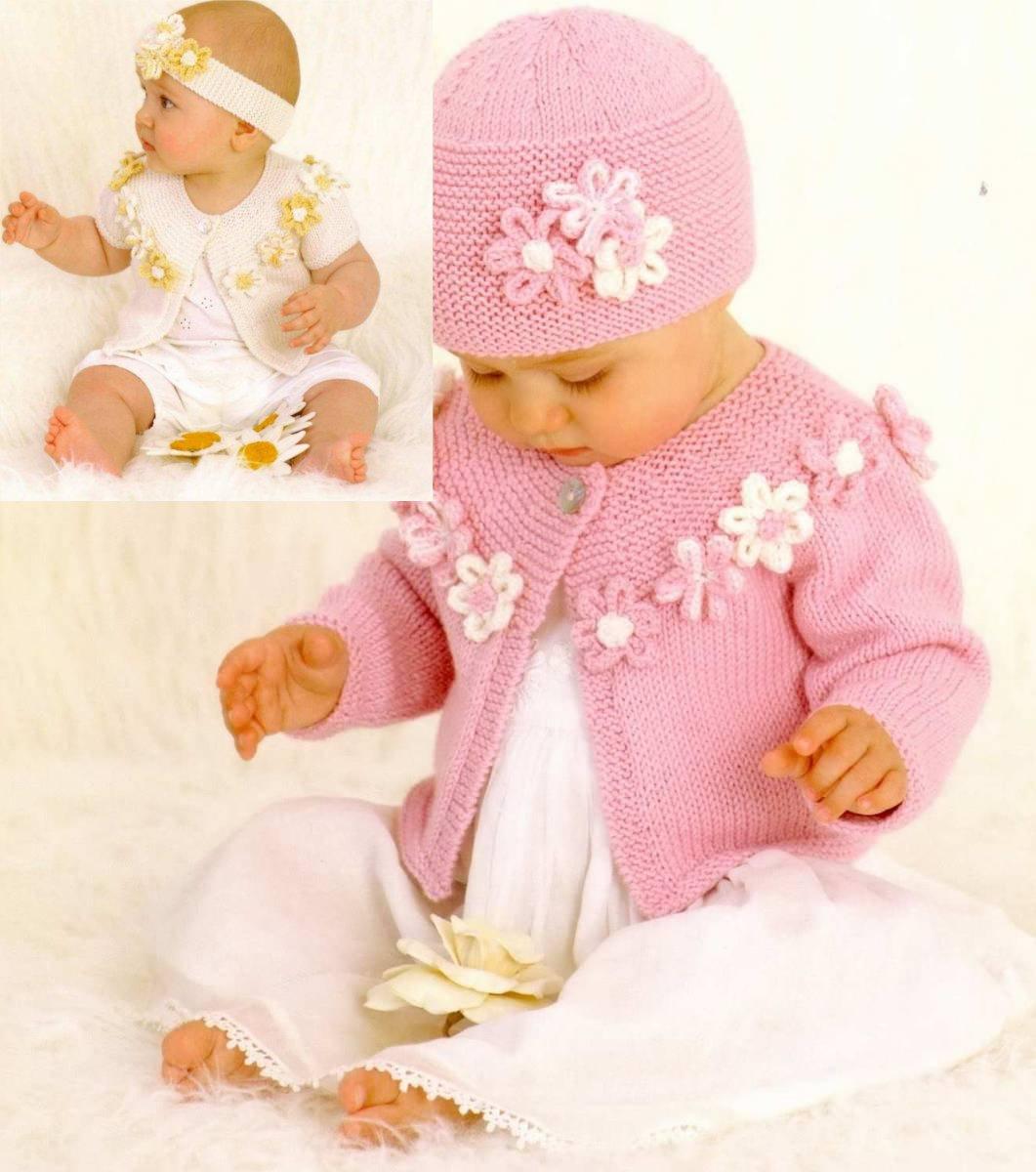 Модели вязание для девочек до 1 года