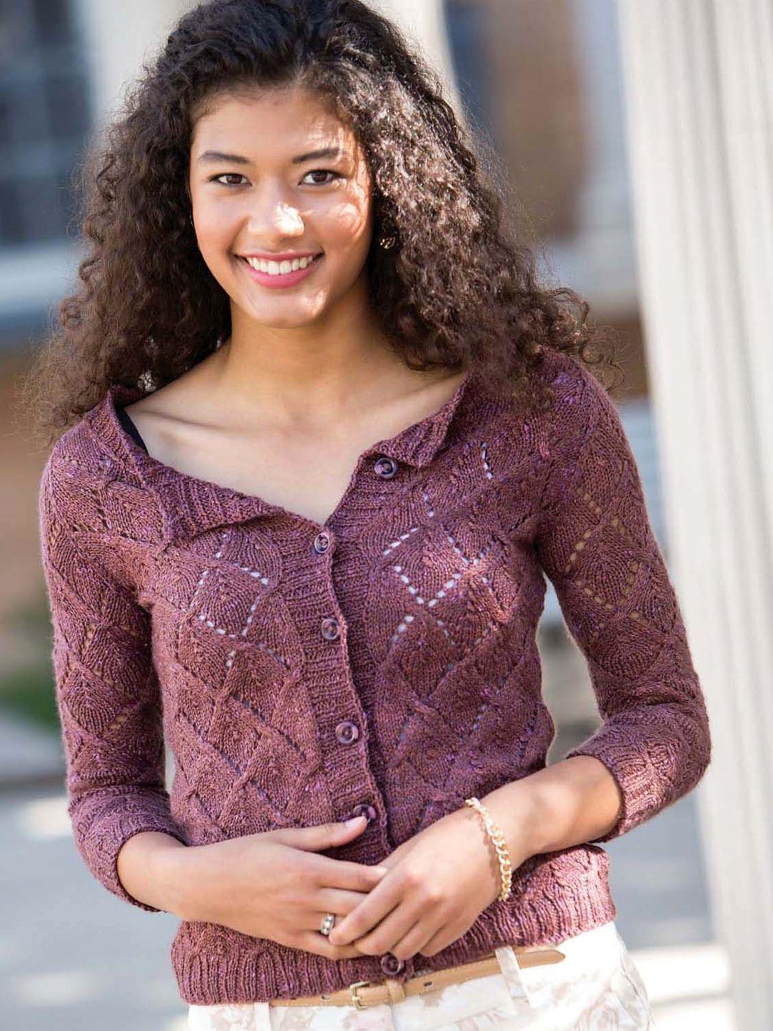 схемы вязания юбки трапеции спицами