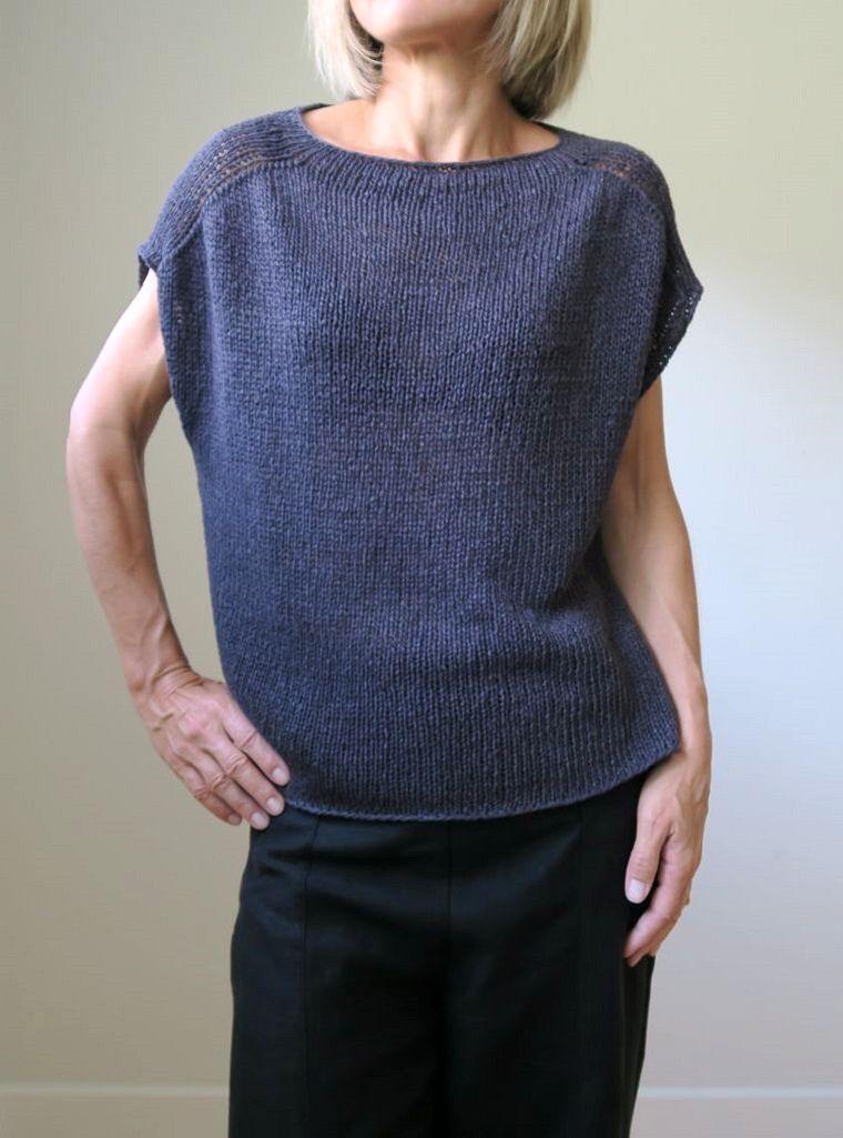 Пуловер спицами Более 40 схем вязания пуловеров