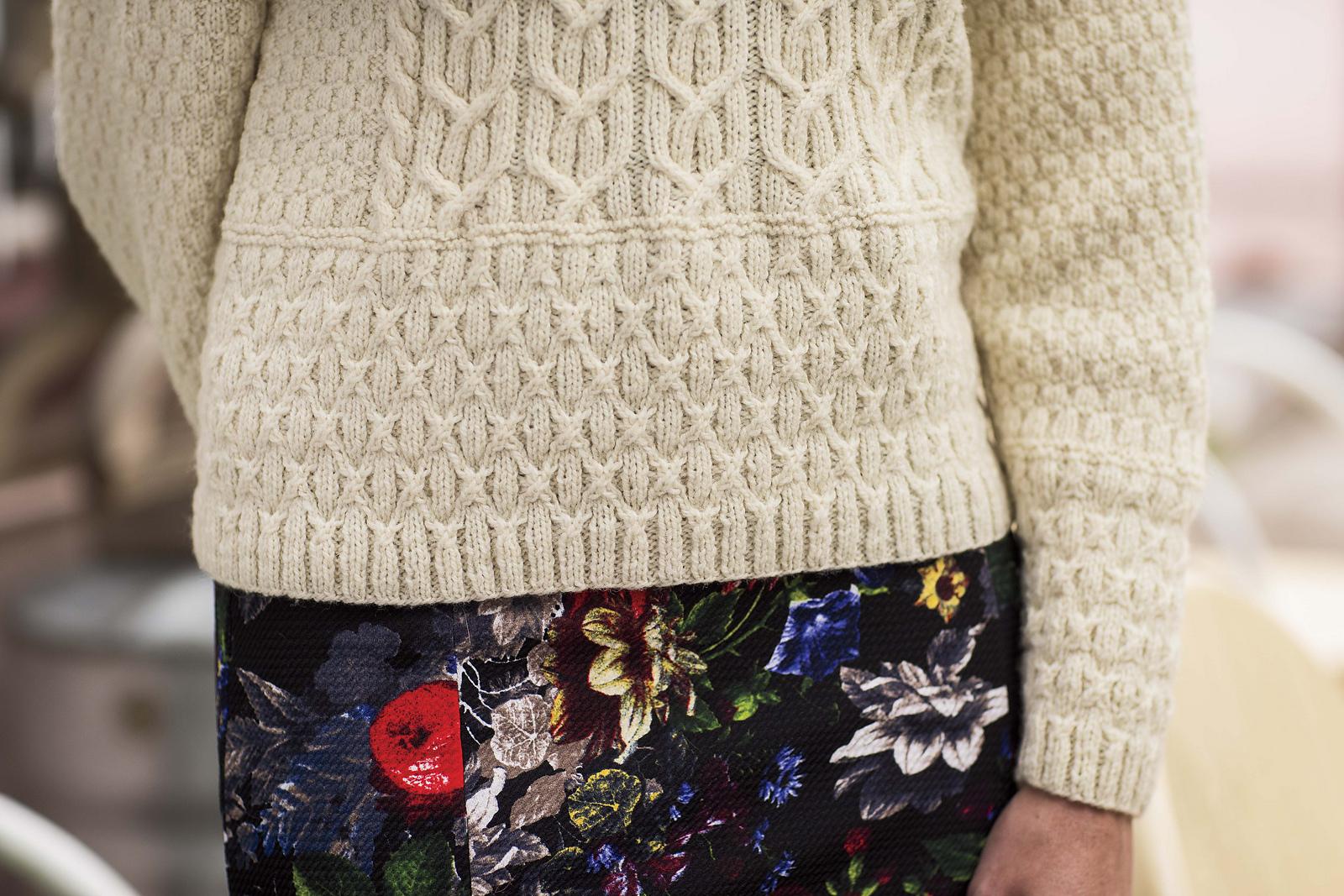Осинка вязание джемпер женский