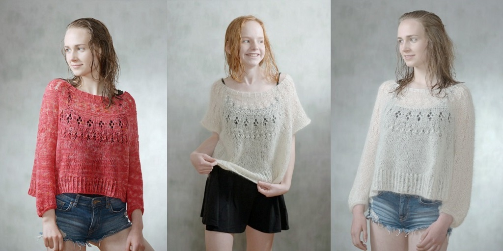 Пуловер оверсайз Ranunculus
