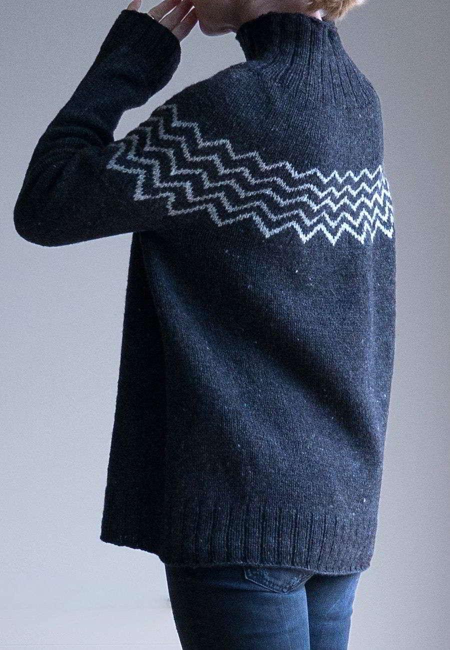 вязаный пуловер оверсайз Monochrome вяжиру