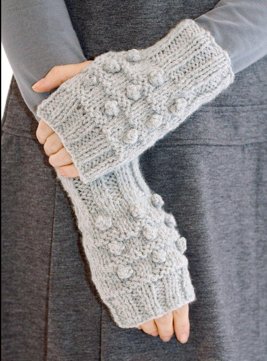 вязание шарфа зимнего